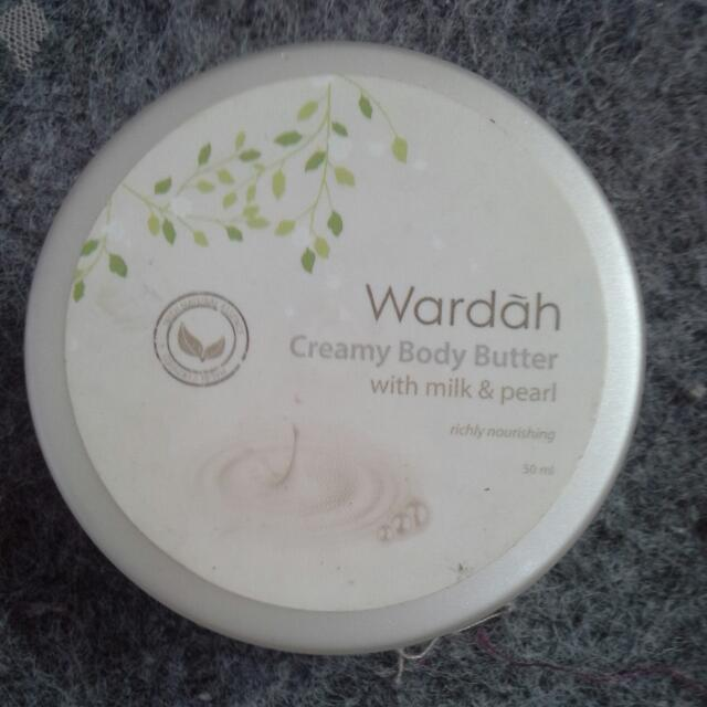 Wardah Body Butter (Milk & Pearl )