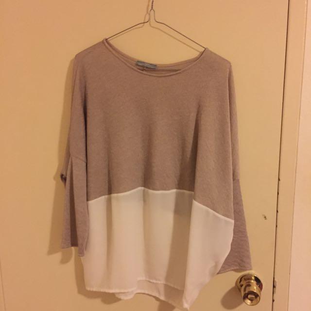 Zara Top Size L