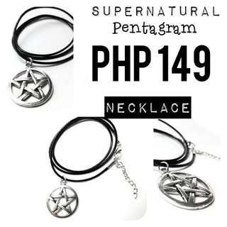 Necklace   Supernatural: Pentagram