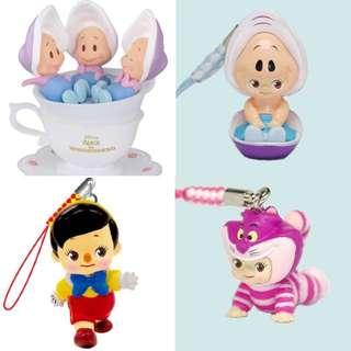 (徵收)迪士尼 愛麗絲夢遊仙境 小木偶 商品