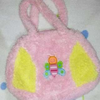 Cute Pink Butterfly Bag