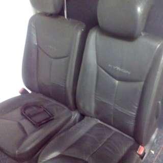 ssangyong kyron driver n front passenger original seat