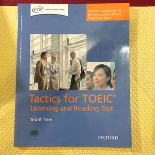 Tactics For Topic Listening And Reading Test