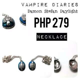 Necklace   The Vampire Diaries: Damon & Stefan Salvatore Daylight