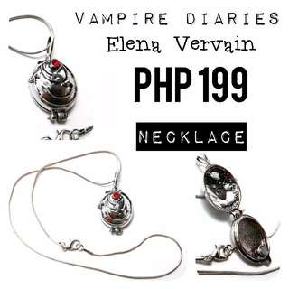 Necklace   The Vampire Diaries: Elena Vervain Locket