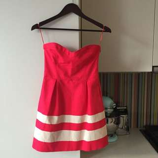 Flirty Red Zara Dress