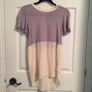 Aritzia Silk XS Shirt