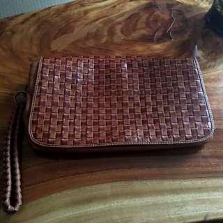 Leather Gorman Clutch