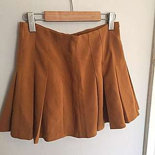 Pleated Fall Skirt