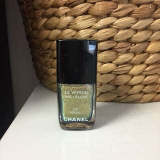 Authentic Chanel Nail Polish 531 Peridot
