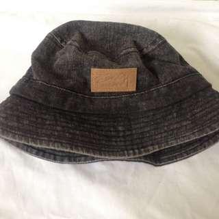 Stussy Charcoal Grey Bucket Hat