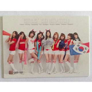 SNSD World Cup Starcard