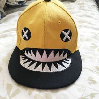 Yellow Monster Stinko SnapBack