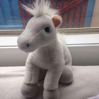 White horse Build A Bear