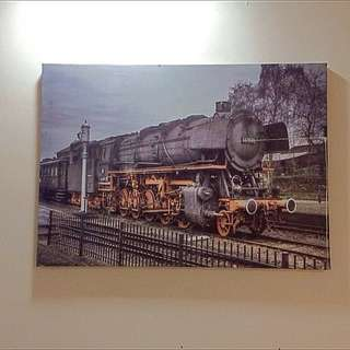 Canvas Painting For Wall Decoration (Lukisan Frame Gambar)