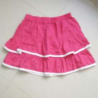 Fuschia Skirt