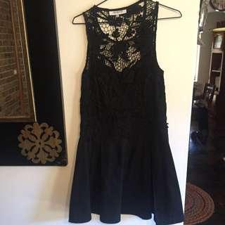 Maurie & Eve Black Dress Size 10