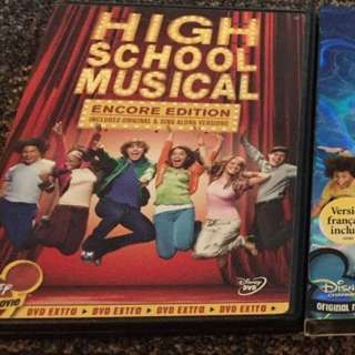 Complete High School Musical Series On DVD