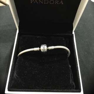 Pandora 18cm 純銀手鍊