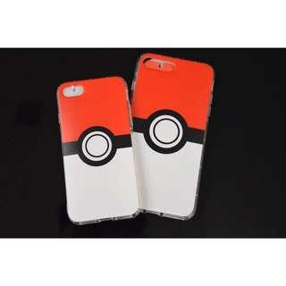 Instock Apple Iphone 7 / 7 Plus Pokemon Go Pokeball Design Tpu Soft Casing