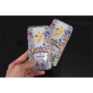 Instock Apple Iphone 7 / Iphone 7 Plus Pokemon Design Transparent Tpu Soft Casing