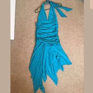 ZIG ZAG Women's Halter Dress - Size 8