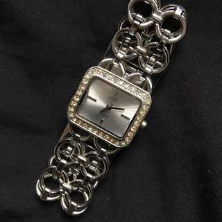 Elite Silver Watch