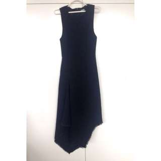 Kookai Long Black Dress