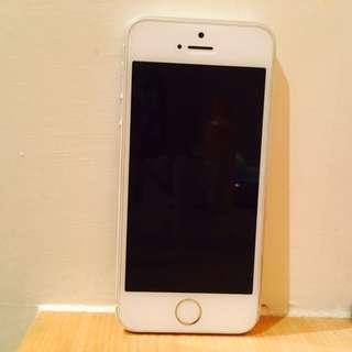 Iphone 5s 16g 銀色 不面交 不二價不二價