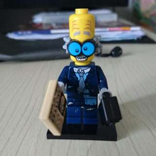 Lego Minifig Crazy Business Man MOC
