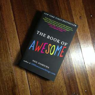 [GIVEAWAY] THE BOOK OF AWESOME by Neil Pasricha
