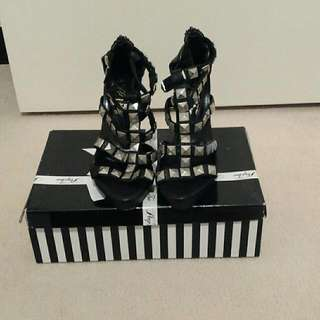 Peeptoe 'Kay' Shoes