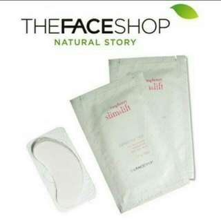 PROMO NOW!! RASPBERRY LINE&LIFT COLLAGEN EYE PATCH (THEFACESHOP)