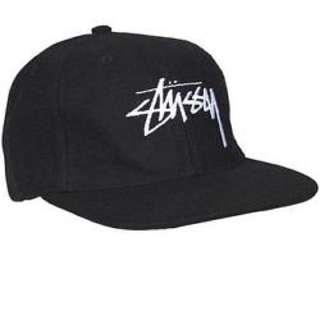 Authentic black stussy Cap