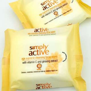 Vitamin C Facial Cleansing Wipes