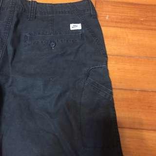 Nike 褲子 中直(黑)小口袋