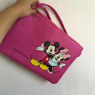迪士尼 斜背包