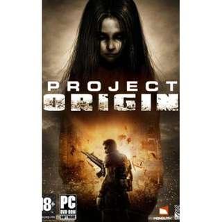 F.E.A.R. 2 : Project Origin + Reborn || 4 DVD