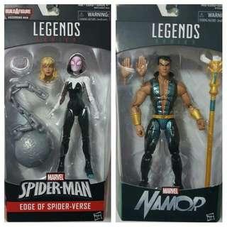 Marvel Legends Spider Gwen & Namor MISB