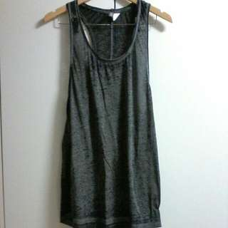 H & M DIVIDED SINGLET DRESS