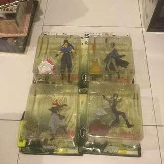 Yamato Ruronin Kenshin Set Of 4