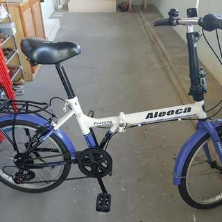 "Aleoca 16"" Basic Folding Bicycle"