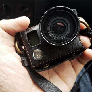 Leather Case for GoPro Hero 4