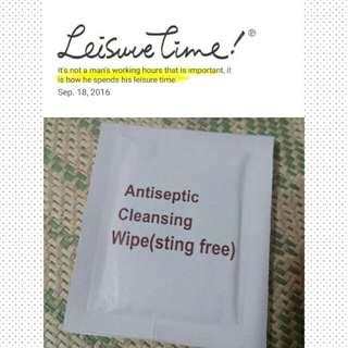抗菌清潔濕紙巾