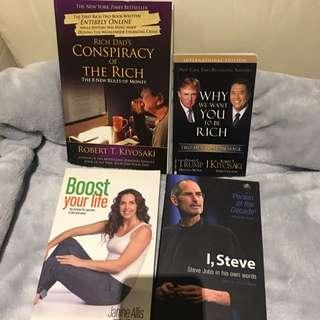 Business/ Self-Help Books