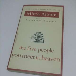 The Five People You Meet In Heaven, Mitch Albom,半價