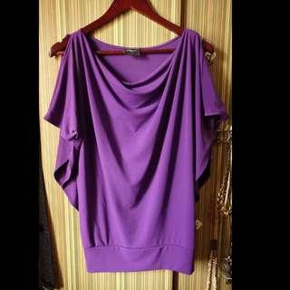 FLOWER Purple Top