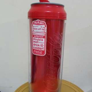 473ml Coke Spillproof Double Wall Water Bottle