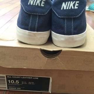 二手極稀少Nike 帆布鞋