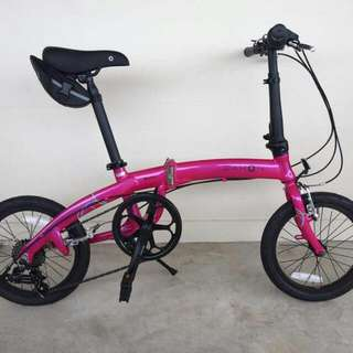 *IN-STOCK Dahon Boon C6 (HOT PINK)